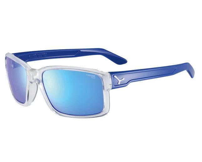 *Очки DUDE SHINY TRANSLUCENT CLEAR BLUE 1500 Grey PC AR Blue Flash Mirror Cat.3