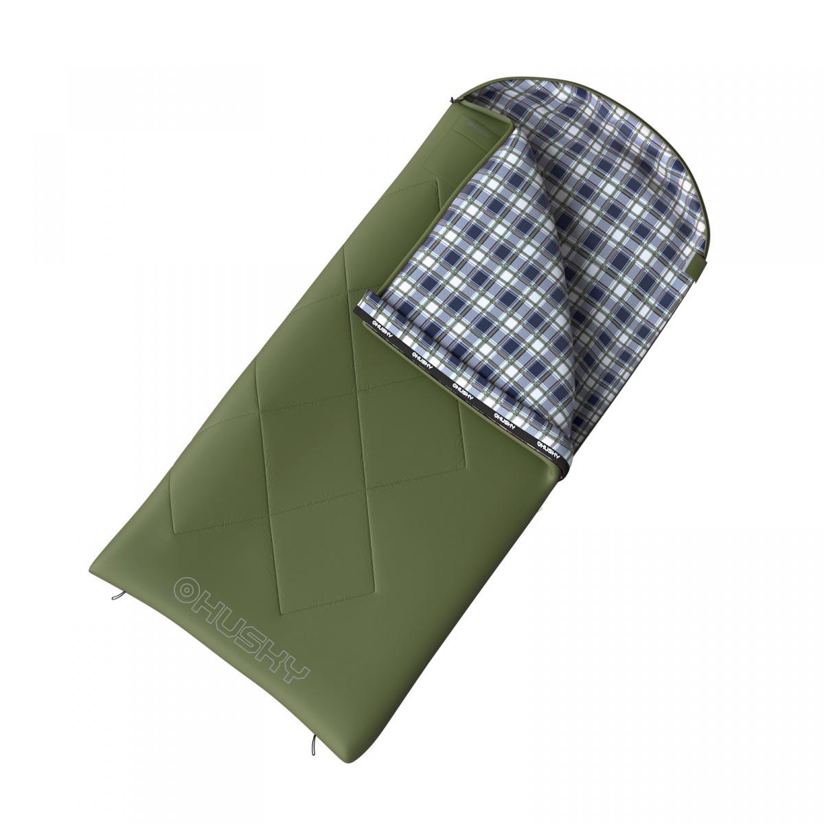 GARY - 5С 220x90 спальный мешок (зелёный, левый)