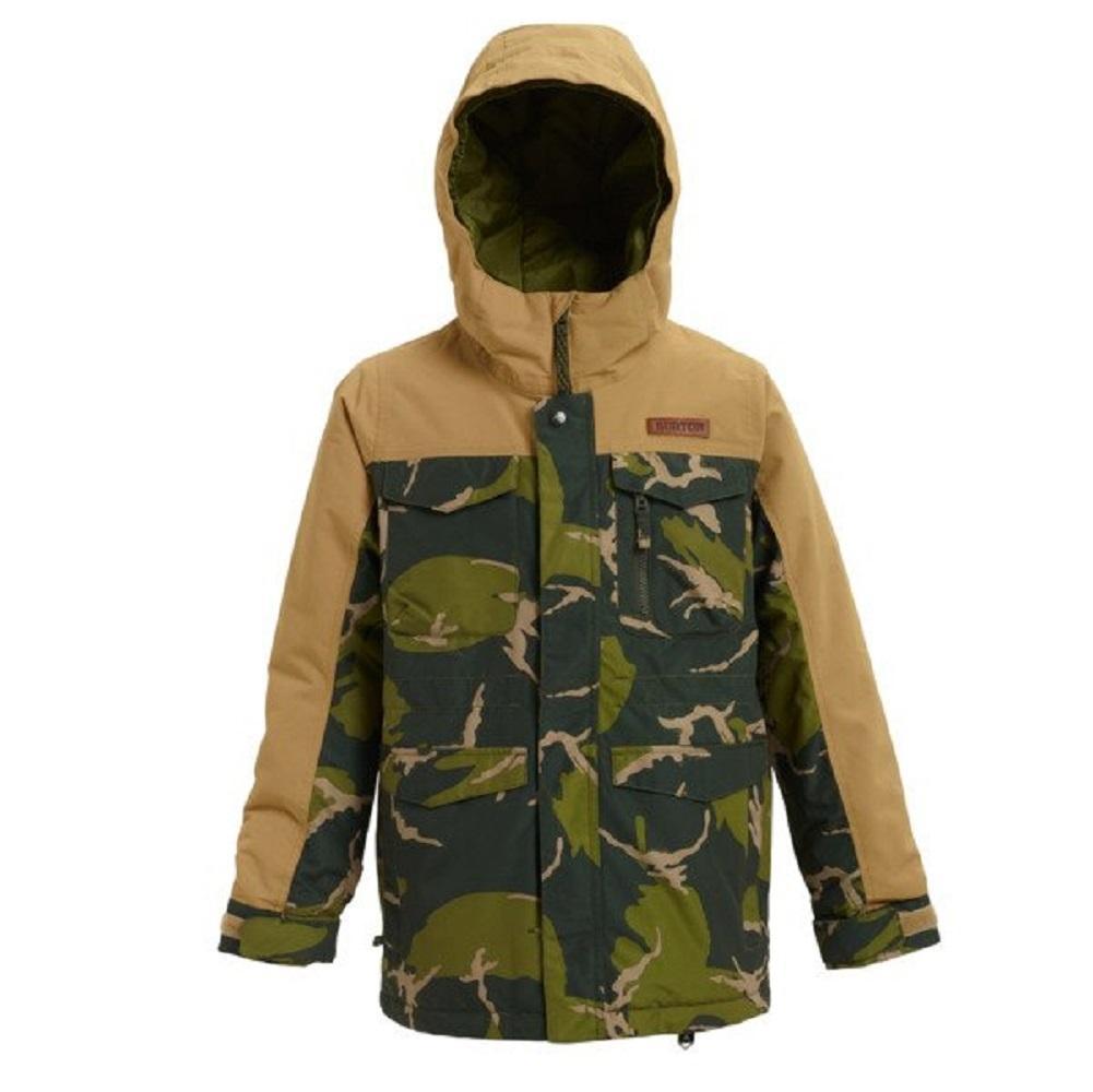 детская куртка burton, хаки