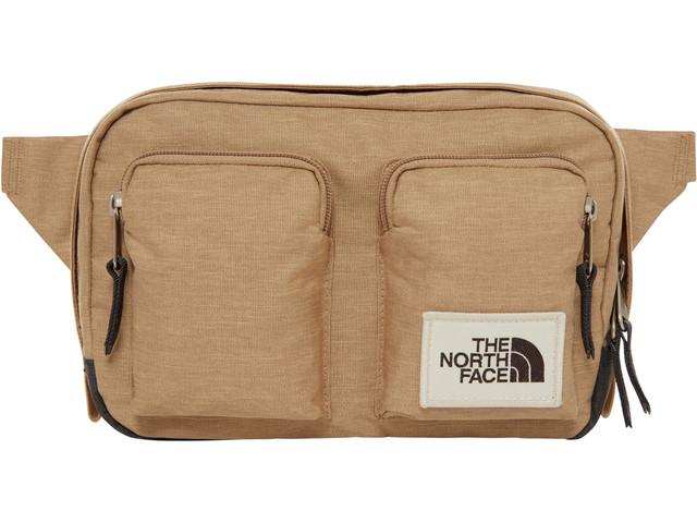 сумка the north face, коричневая