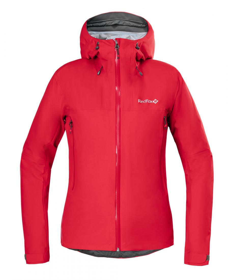 Куртка ветрозащитная Vinson Женская Red Fox (M, 1200/т.красный, , , SS17)