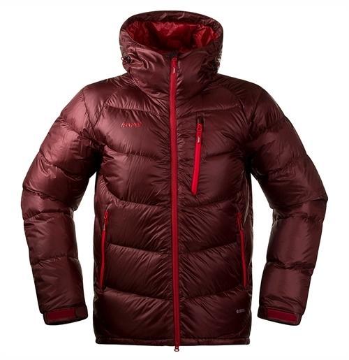 *Куртка Memurutind Down Jkt Bergans бордового цвета