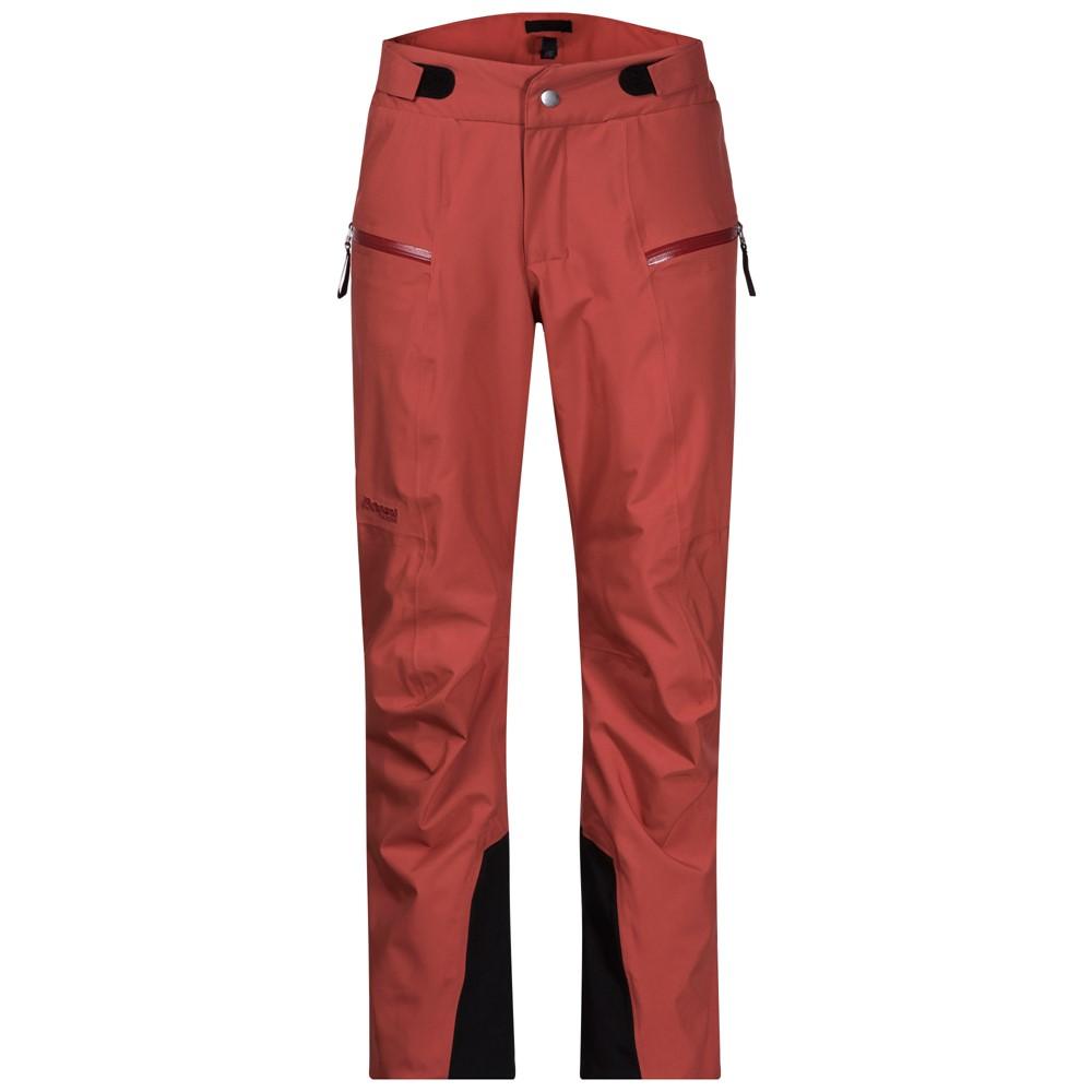 женские брюки bergans, красные