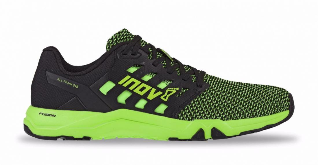 мужские кроссовки inov-8, зеленые