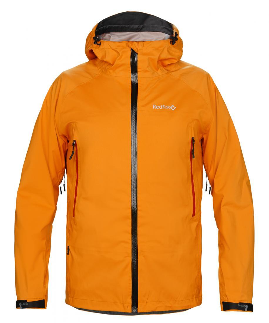 мужская куртка red fox, оранжевая