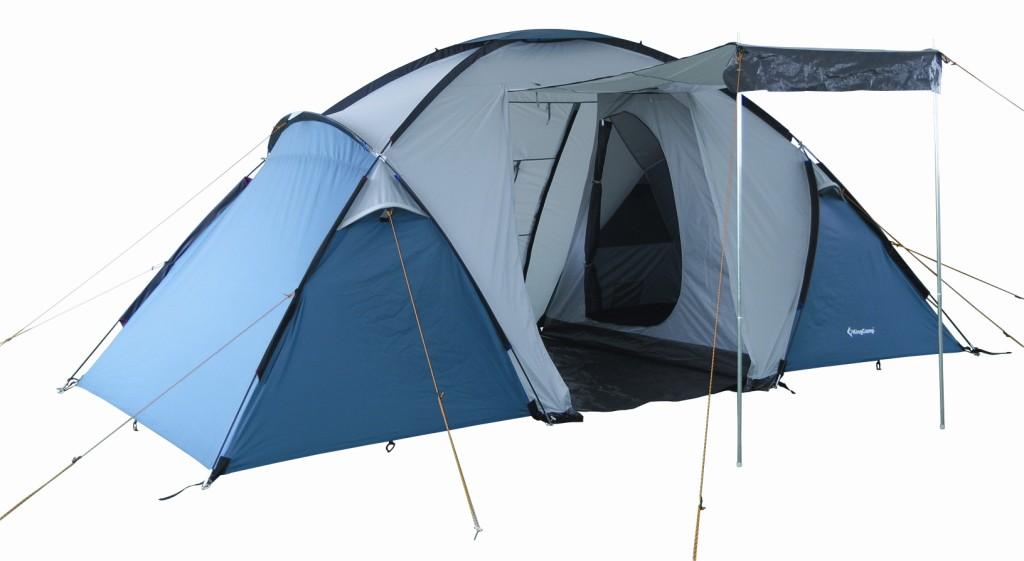 3031 BARI 6 Fiber палатка (6, синий) от King Camp
