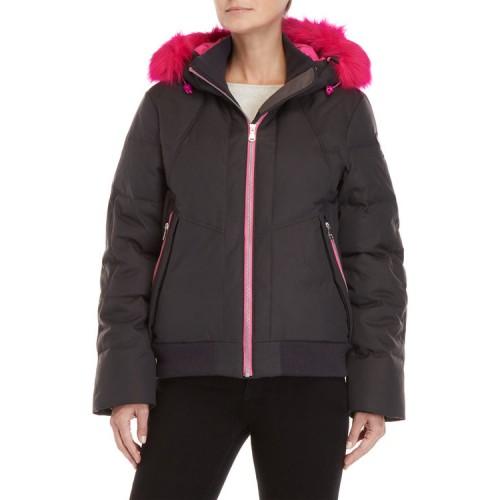 женская куртка pajar, коричневая