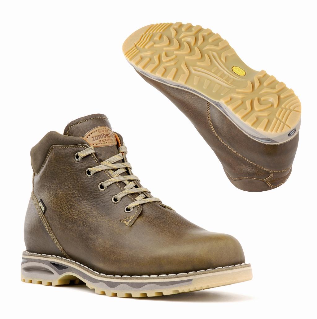 мужские ботинки zamberlan, коричневые