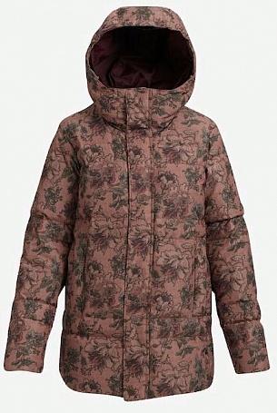 женская куртка burton, черная