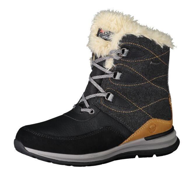 Ботинки Poplar DX жен. Halti черного цвета
