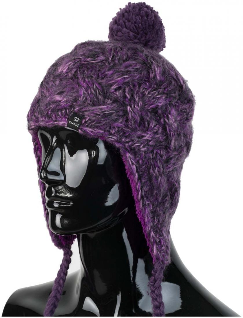 женская шапка chaos, бирюзовая