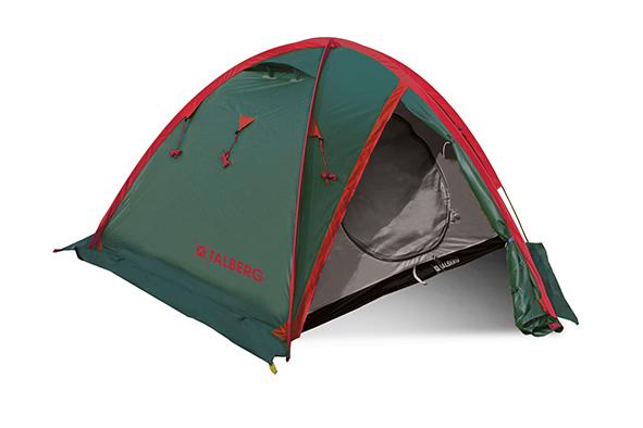 SPACE PRO 2 палатка Talberg (зелёный)