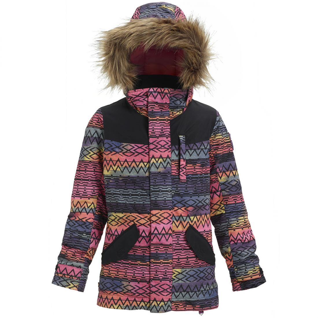 детская куртка burton, розовая