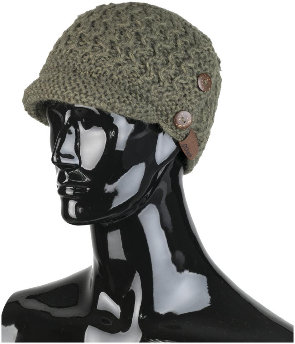 женская шапка chaos, зеленая