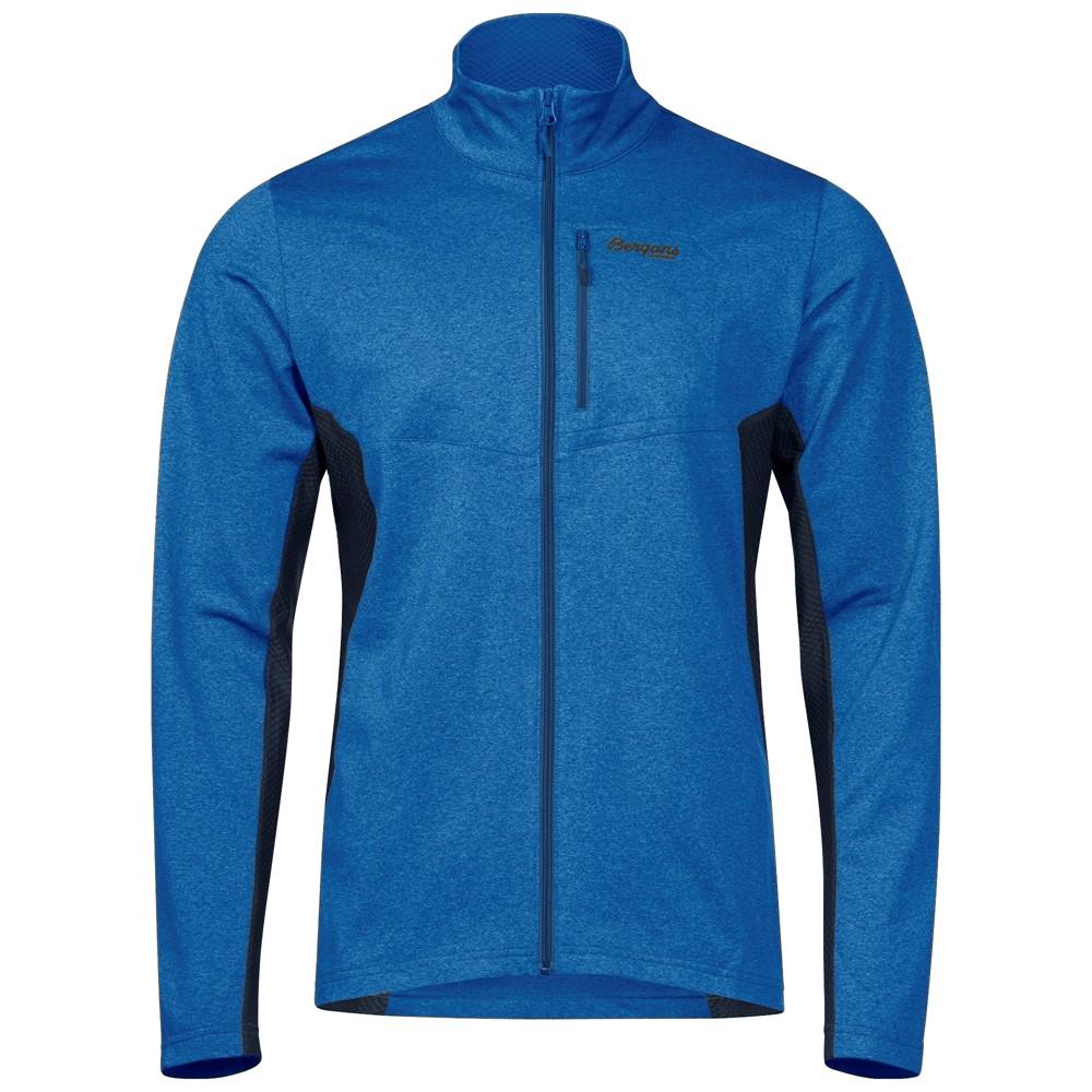 мужская куртка bergans, синяя