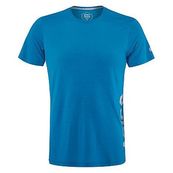 мужская футболка asics, голубая