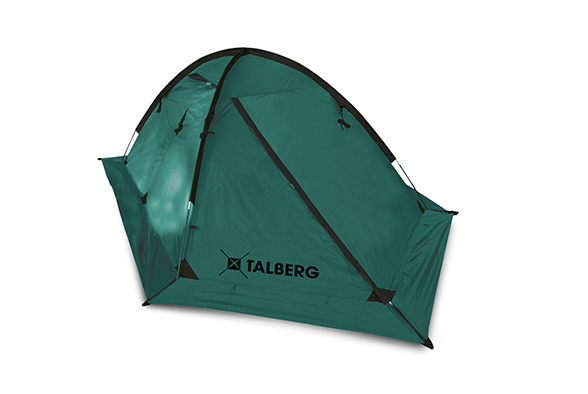 VEGA 2 палатка Talberg (зелёный)