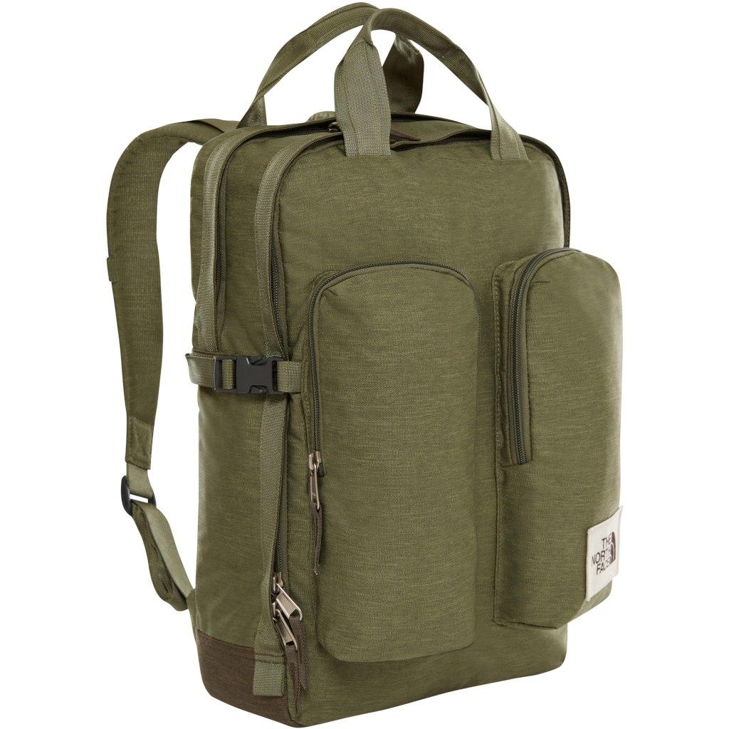 мужской рюкзак the north face, зеленый
