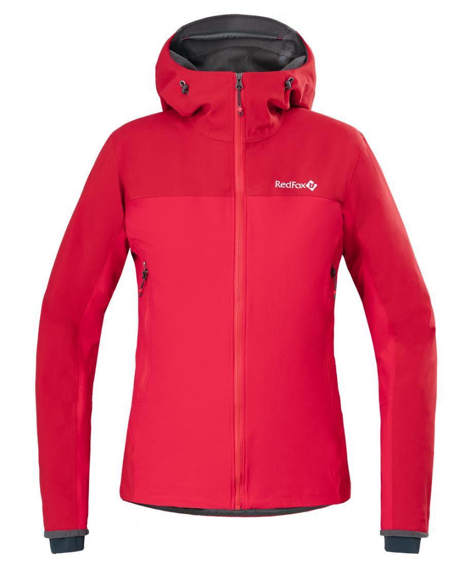 Куртка Eiger Shell Женская Red Fox 1200/т.красный, , , W 17-18)