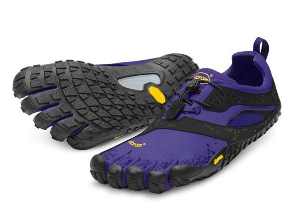 женские мокасины vibram, фиолетовые