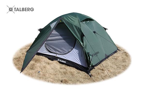 BOYARD 3 палатка Talberg (зелёный)