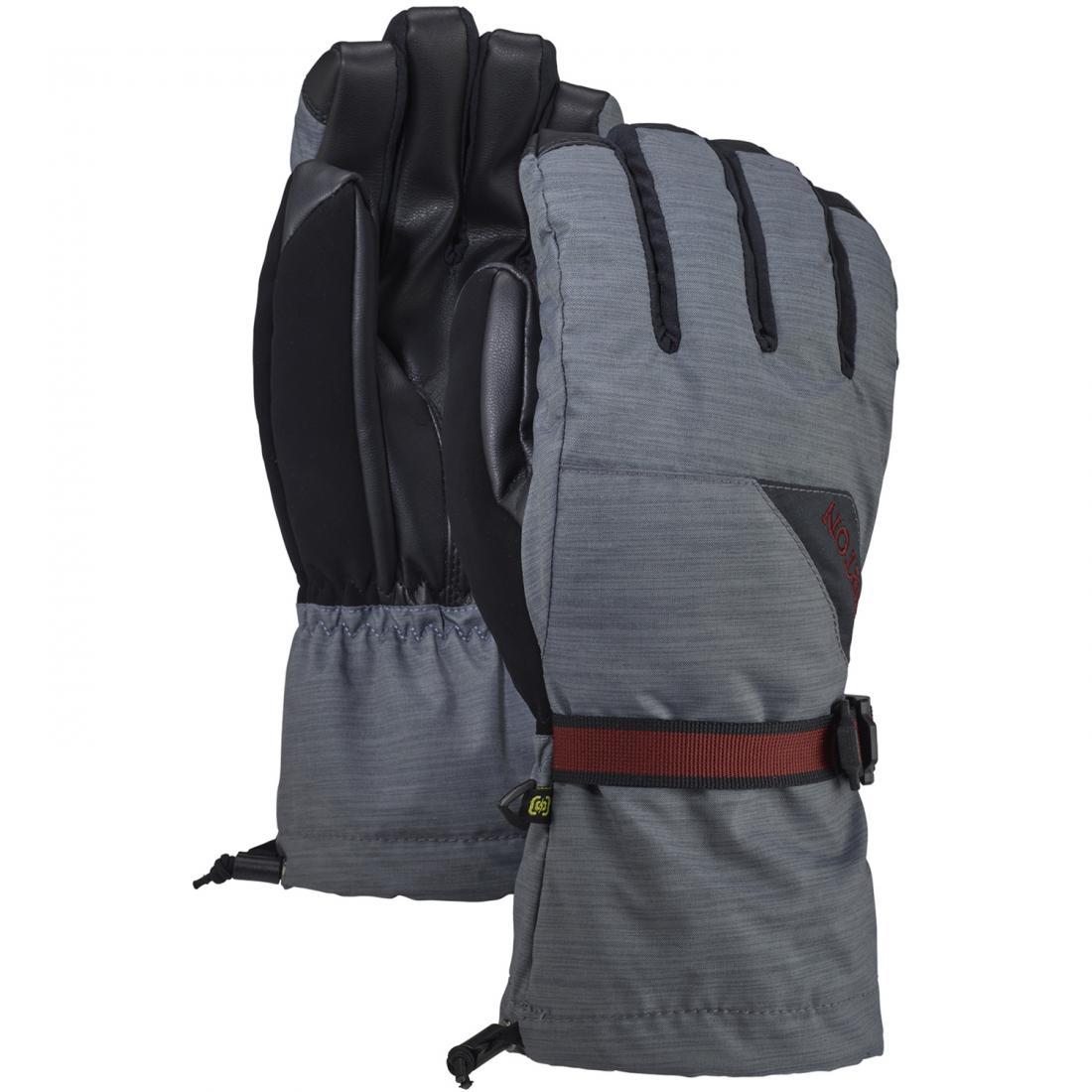 мужские перчатки burton, серые