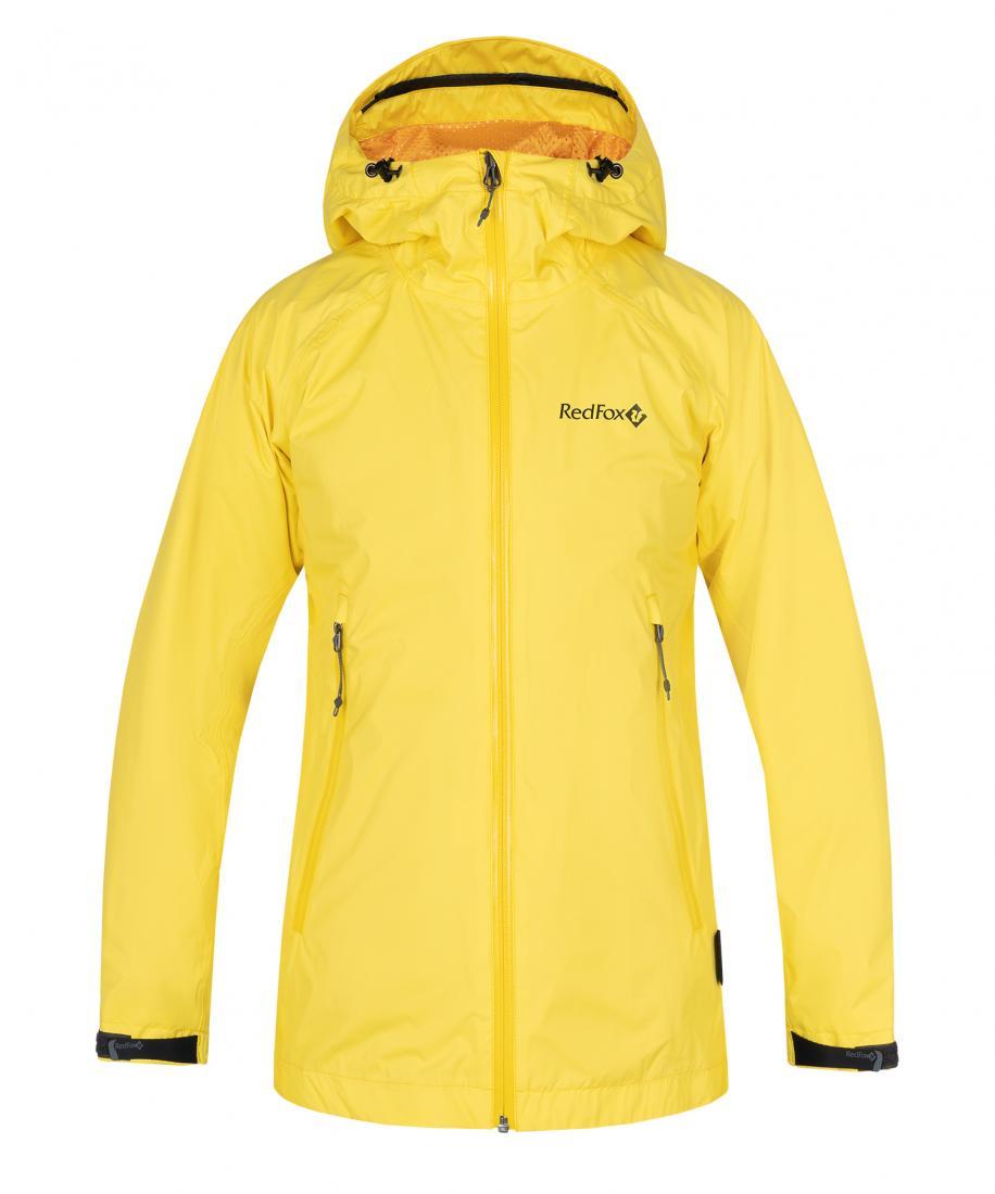 Куртка Altitude Женская Red Fox желтого цвета