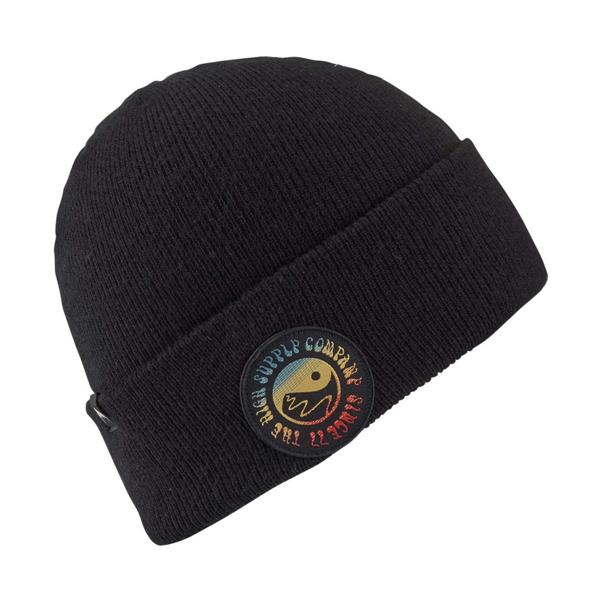 женская шапка burton, бежевая