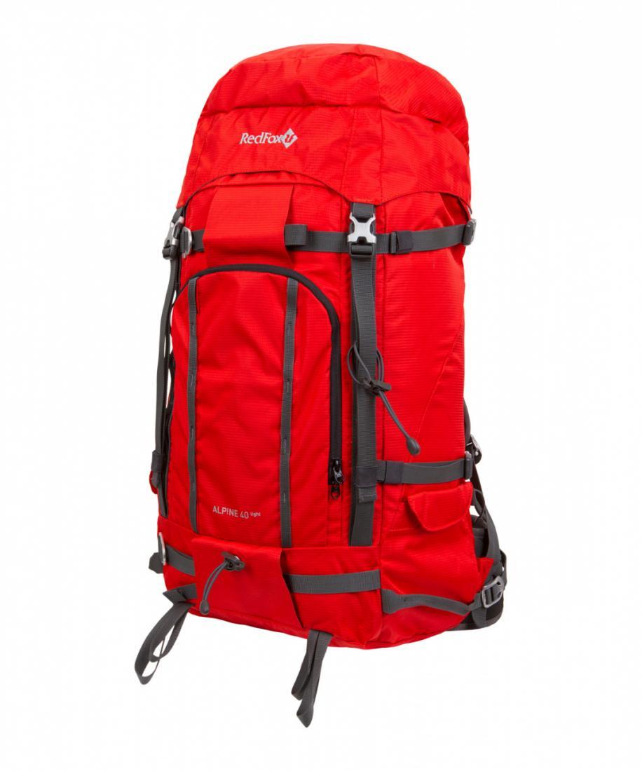 мужской рюкзак red fox, красный