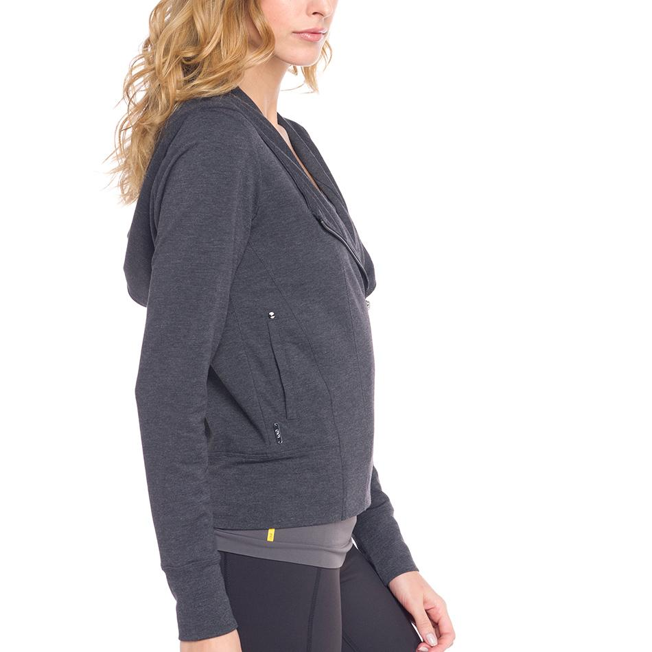 Кардиган LSW1281 CAREY CARDIGAN (XS, Black Heather, ,) купить в Boardshop №1