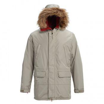 мужская куртка burton, серая