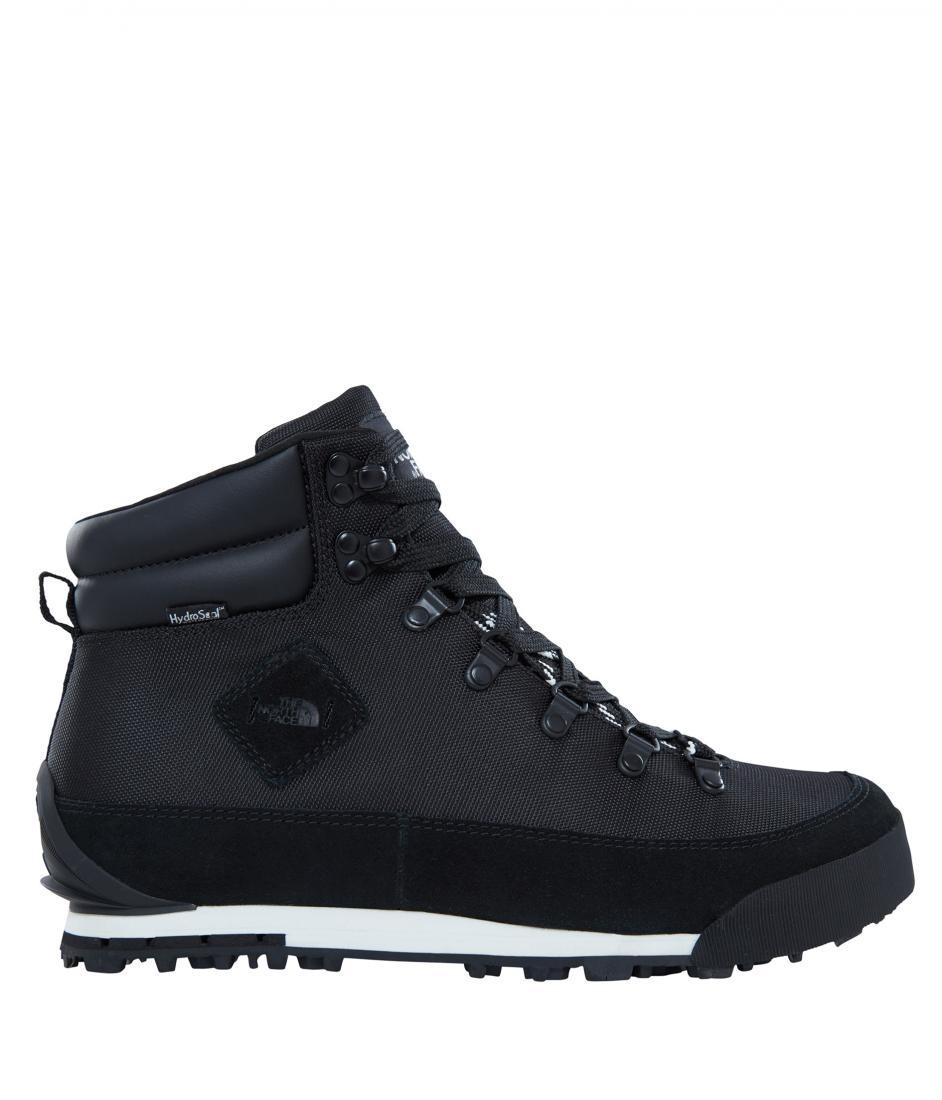 мужские ботинки the north face, черные