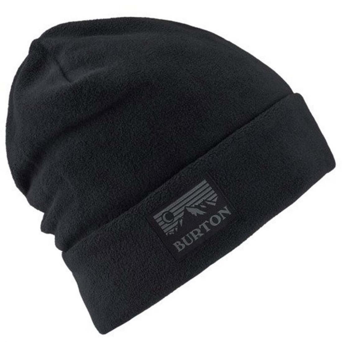 женская шапка burton, серая
