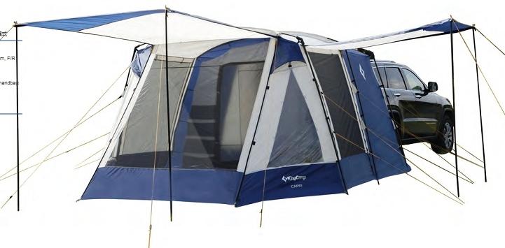 4084 CAPRI 5/9 палатка-тент (синий) от King Camp