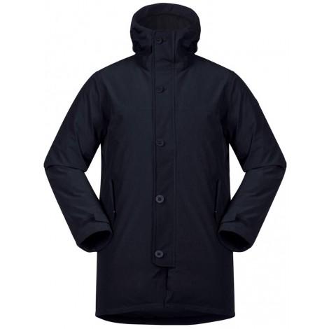 *Куртка Oslo Down Parka Bergans темно-синего цвета