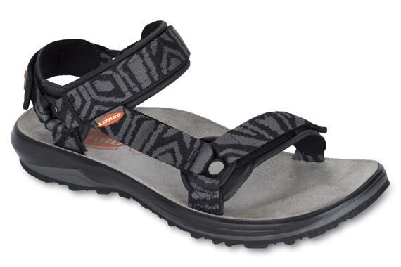 мужские сандалии lizard, оранжевые