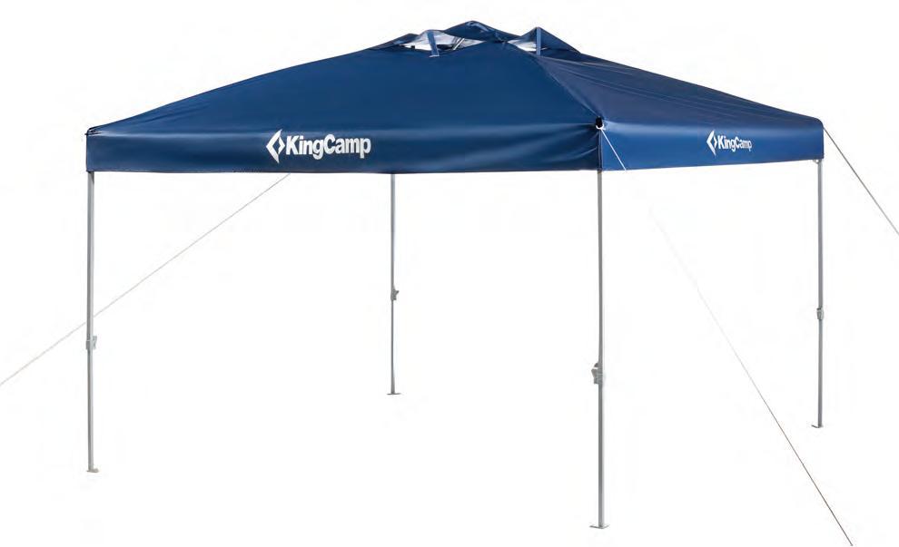 3060 CANOPY L тент (синий) от King Camp