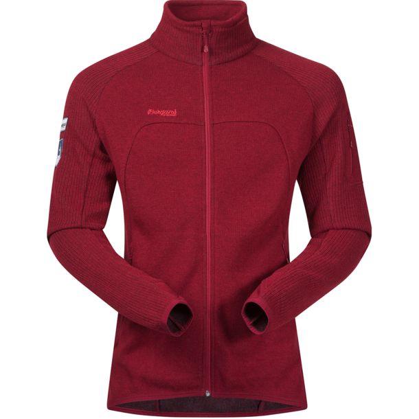 *Куртка Timian Jkt Bergans бордового цвета