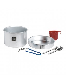 Набор посуды Aluminium cooking set 1 p. with cutlery and cup.
