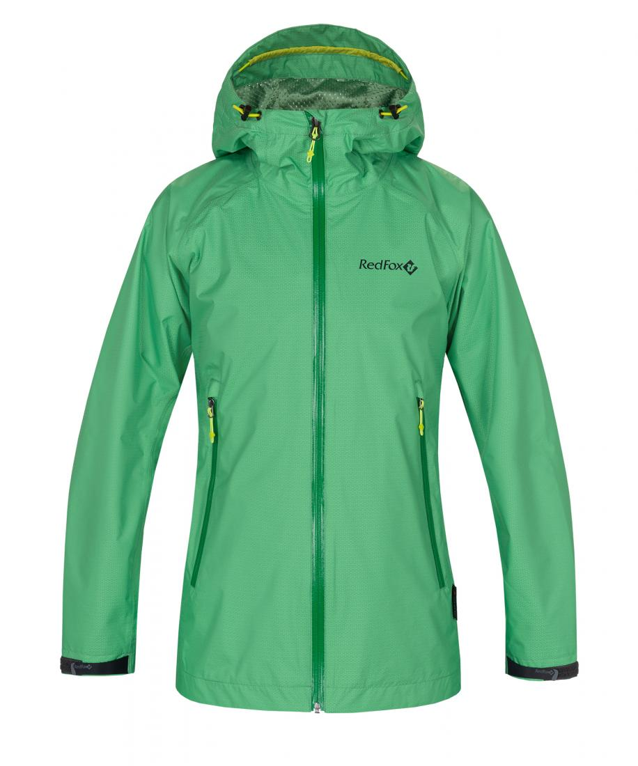 Куртка Altitude Женская Red Fox зеленого цвета