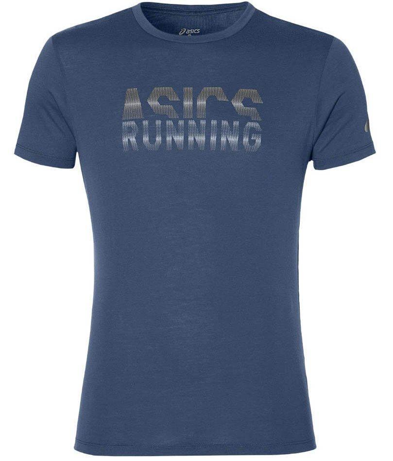 мужская футболка asics, синяя