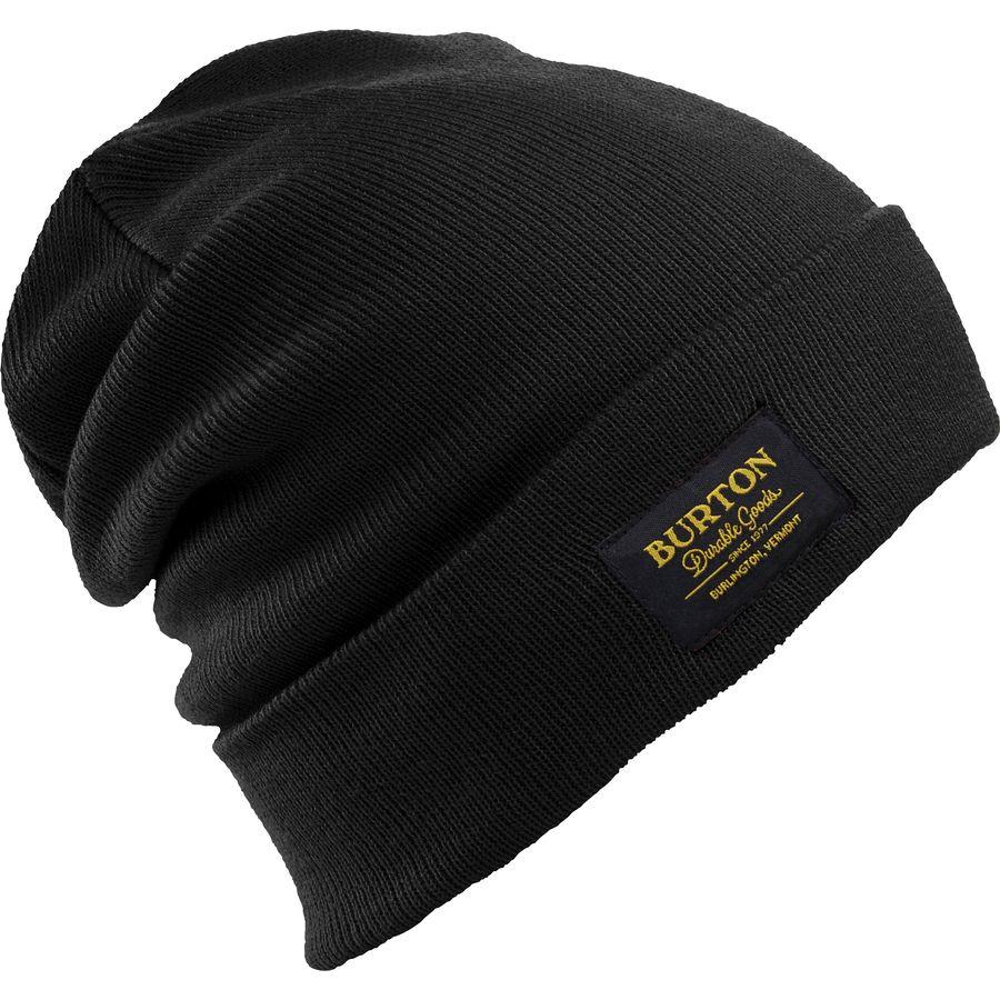 женская шапка burton, коричневая