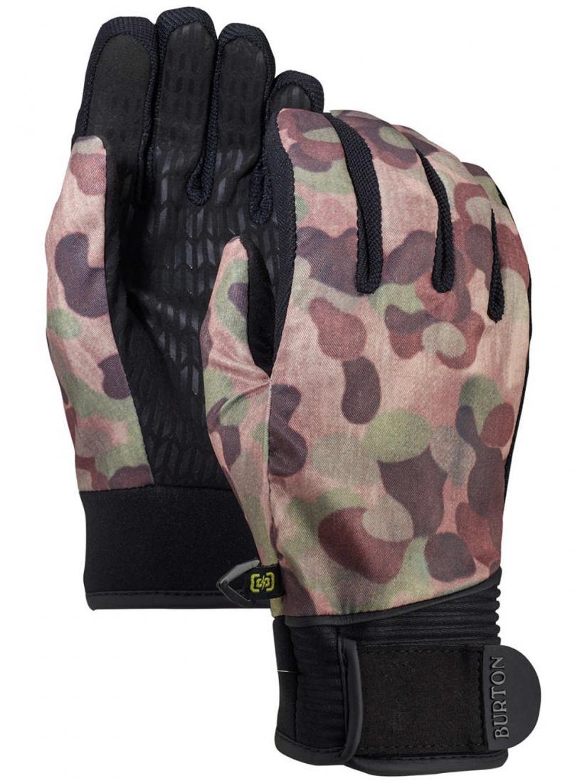 женские перчатки burton, розовые