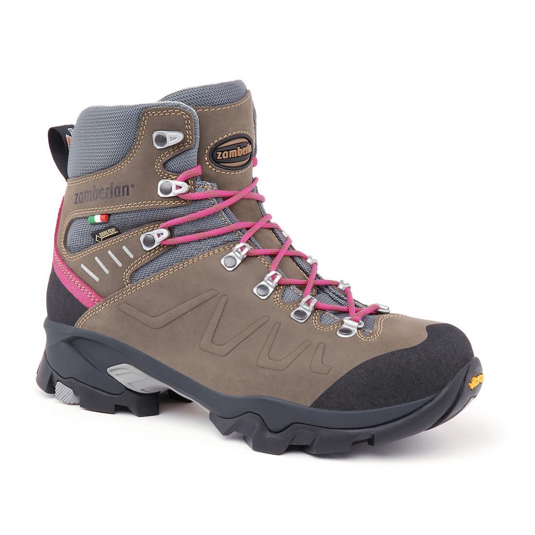 Ботинки 982 QUASAR GTX WNS Zamberlan коричневого цвета