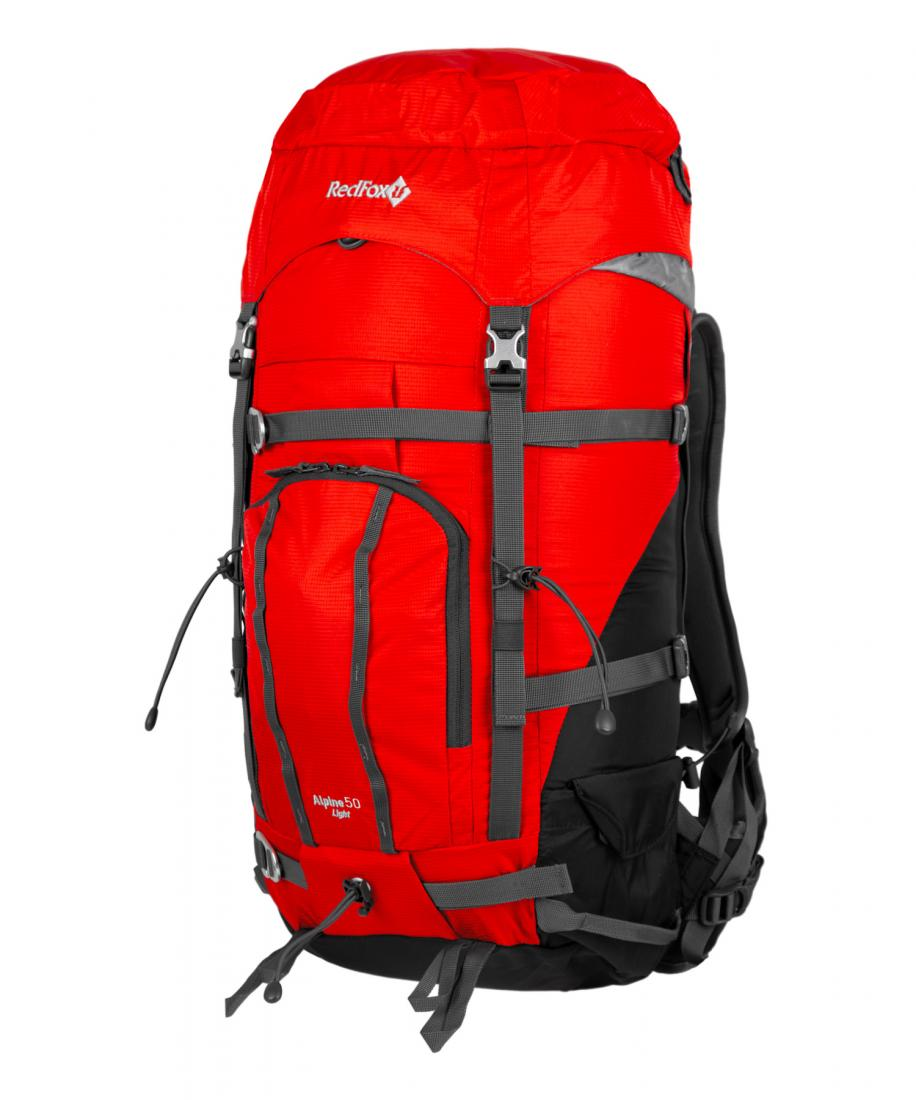 женский рюкзак red fox, красный