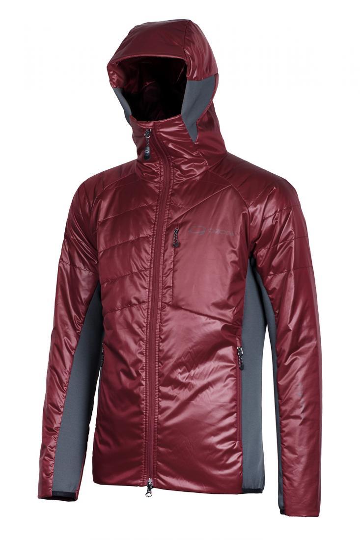 """""""Куртка Clever муж. Ozone бордового цвета"""
