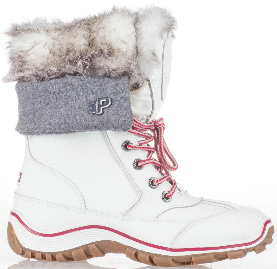 женские ботинки pajar, белые