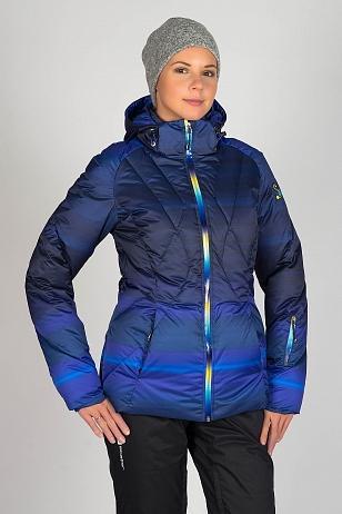 женская куртка stayer, синяя