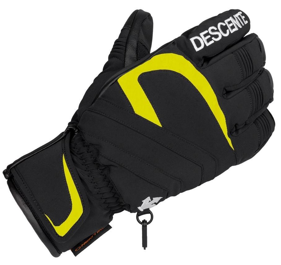 мужские перчатки descente, черные
