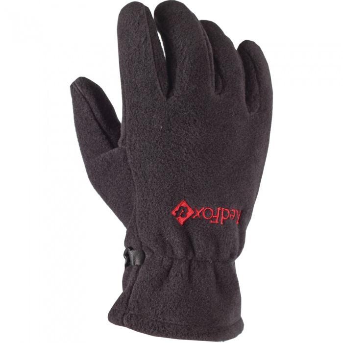 мужские перчатки red fox, серые